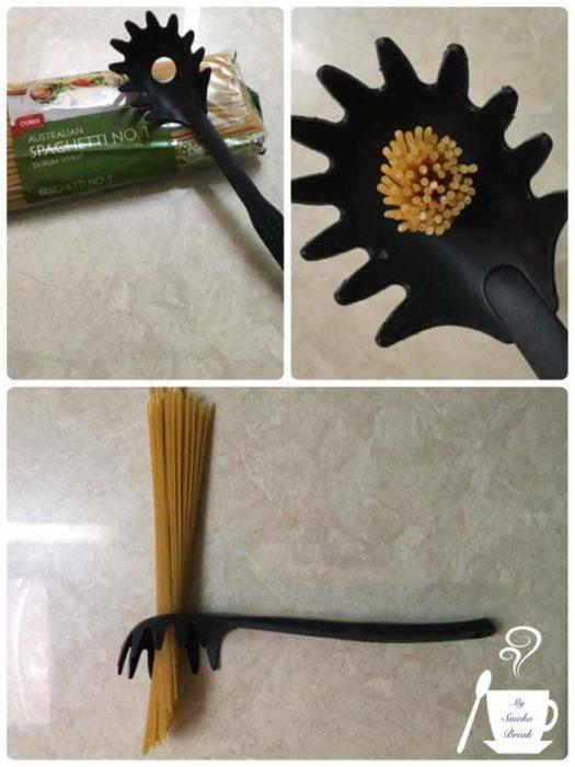 20 objetos mal usados cuchara