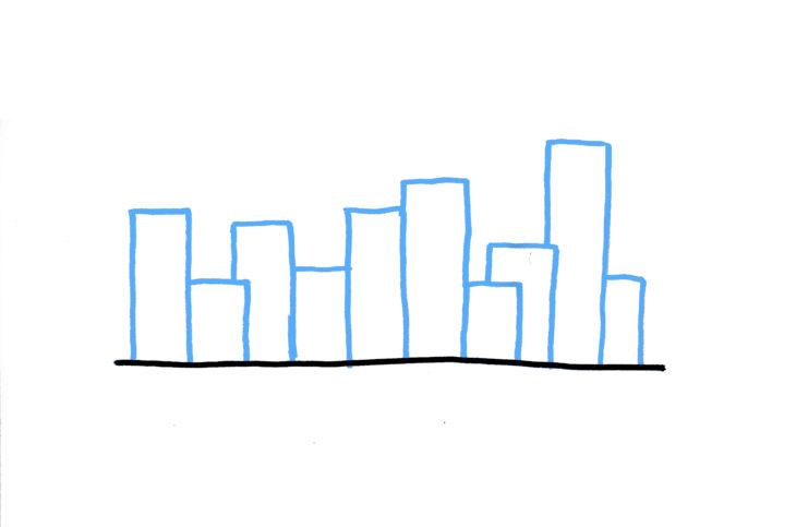 20 plantillas para dibujar skyline 1-1