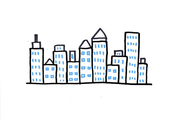 20 plantillas para dibujar skyline 2-1