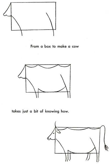 20 plantillas para dibujar vaca