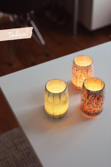 20 tips remodelar recamara lampara frasco