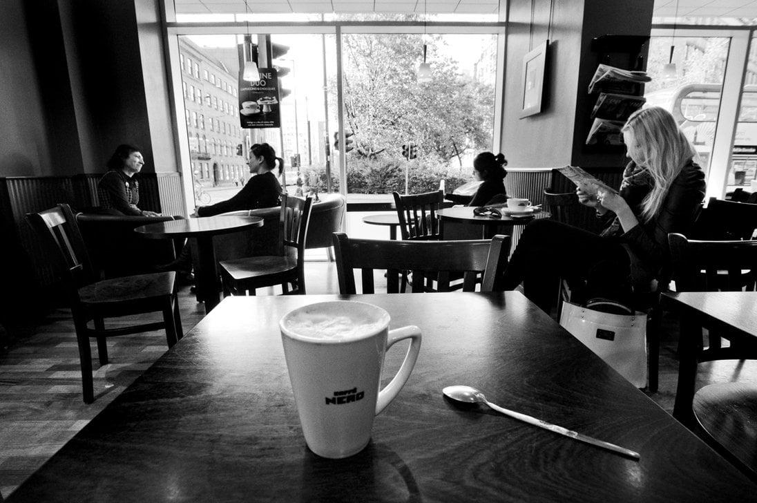 Coffee Shop Tumblr Photography