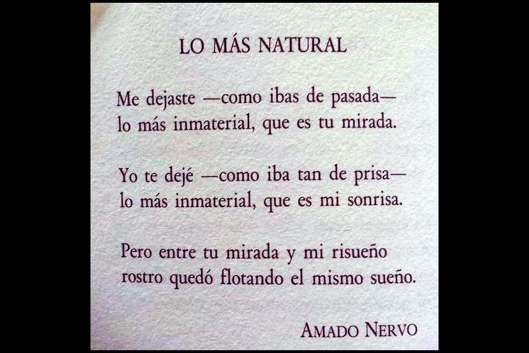 Las 10 Frases Mas Romanticas De Amado Nervo