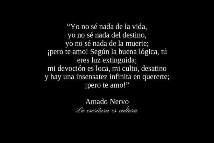 Amado Nervo Frases