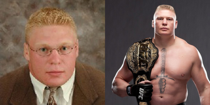 Antes y despues famosos WWE 010