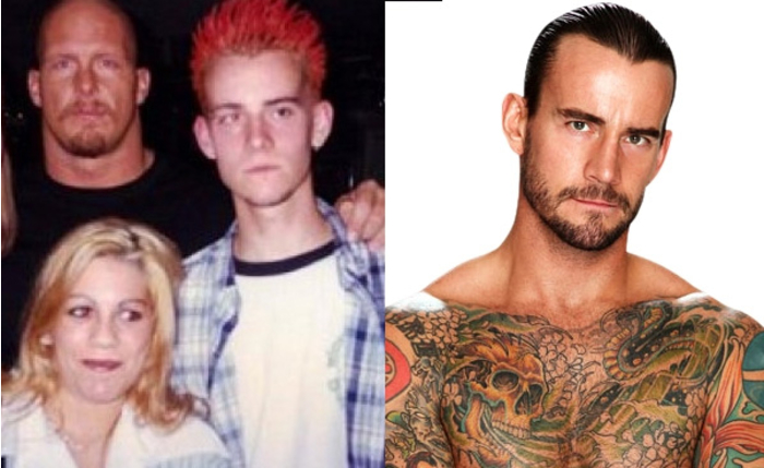 Antes y despues famosos WWE 014