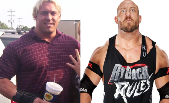Antes y despues famosos WWE 020