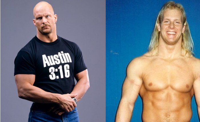 Antes y despues famosos WWE 06