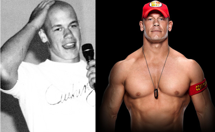 Antes y despues famosos WWE 09