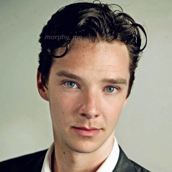Asa Butterfield y Benedict Cumberbatch fusionados