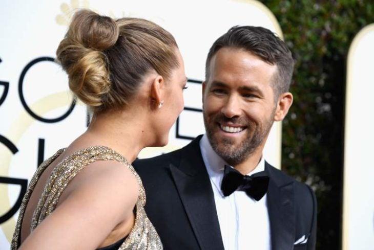 Ryan y Blake riéndose