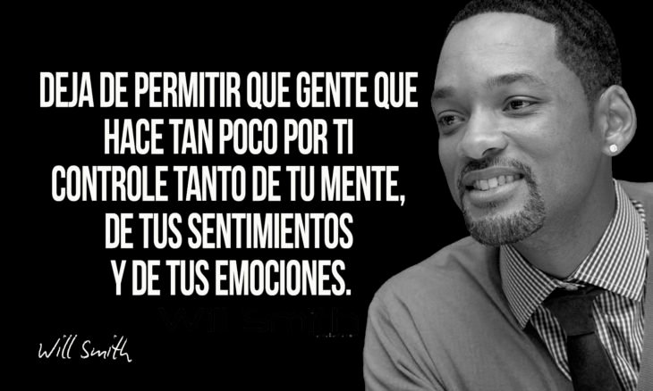 frase de will smith sobre controlarse