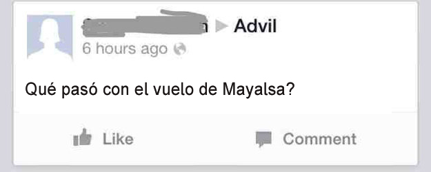 Gente mayor en Facebook - vuelo mayalsa