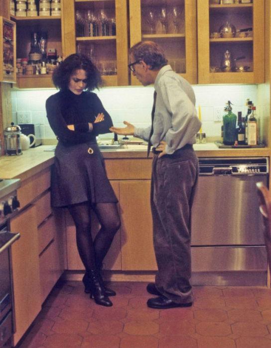 Helena Bonham Carter y Woody Allen