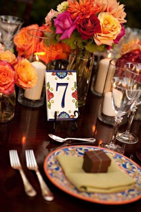 Acomodo de mesas en bodas