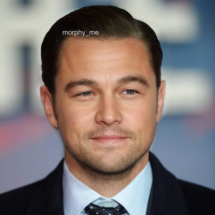 Joseph Gordon y Leonardo DiCaprio