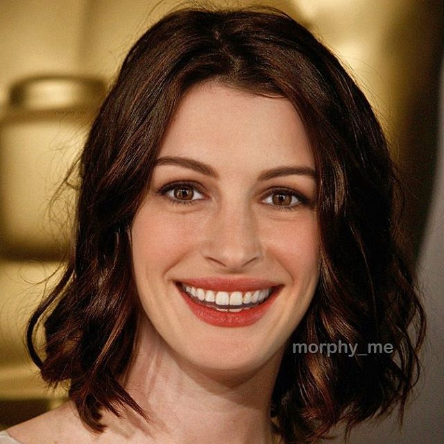 Julia Roberts y Anne Hathaway fusionadas