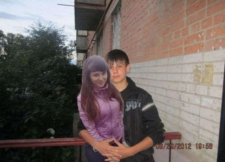 Photoshop - chico con su novia