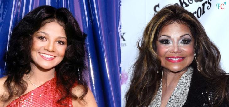 Latoya Jackson antes y después