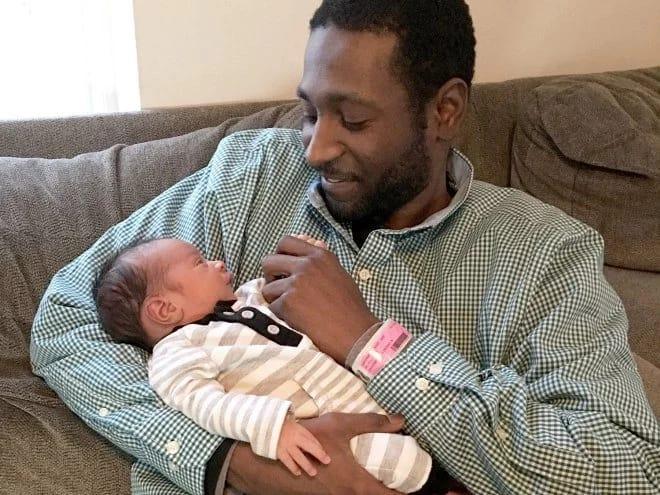 Lamar Austin y su hijo
