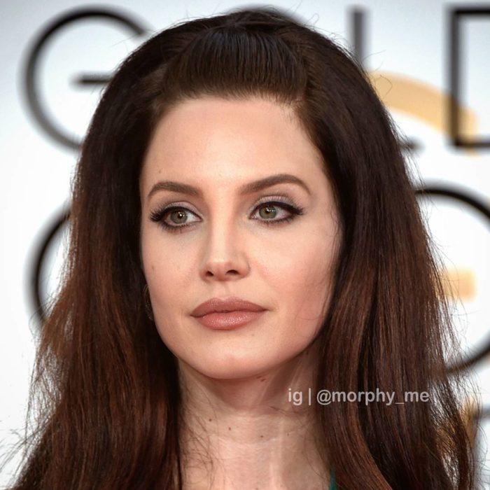 Lana del Rey y Angelina Jolie fusionadas
