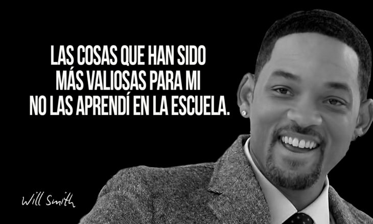 frase de will smith sobre la universidad