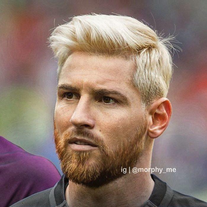 Lionel Messi y Cristiano Ronaldo fusionados