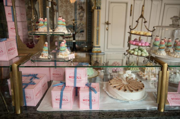 Mendl´s Bakery en la vida real