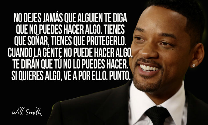 frase de will smith sobre soñar