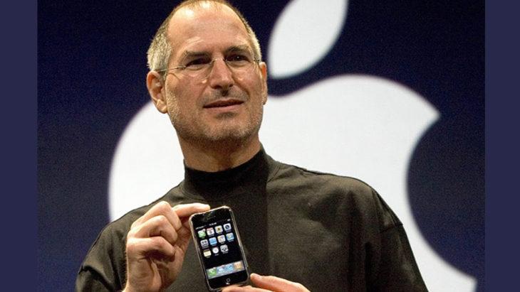steve jobs iphone primero