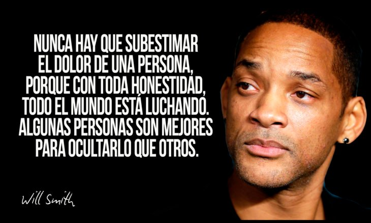 frase de will smith sobre tristeza