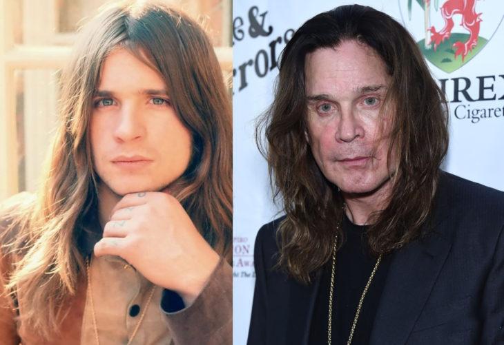 Ozzy Osbourne antes y después
