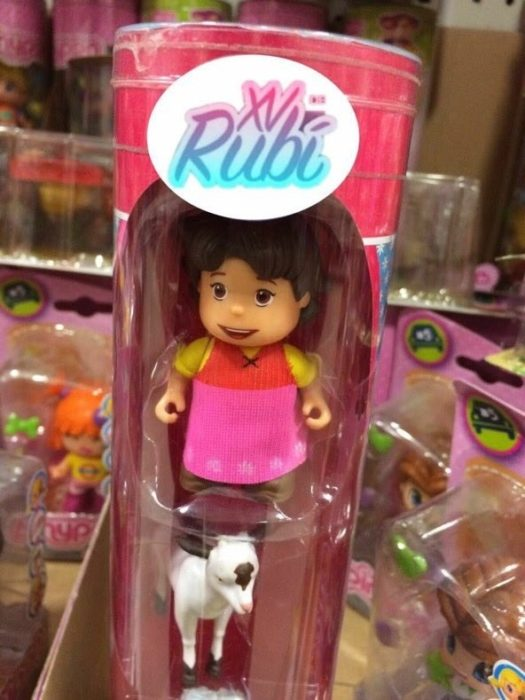 xv rubi muñeca