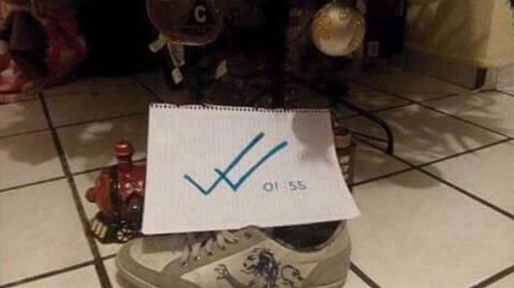 reyes magos dejan en visto zapato