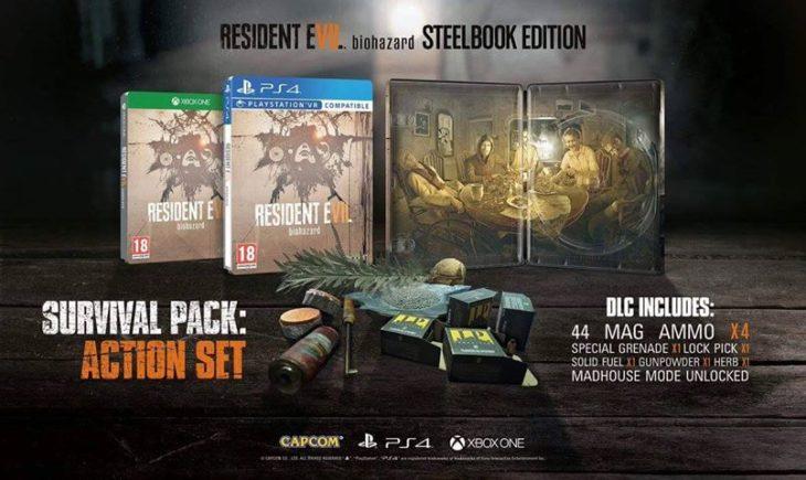 Resident Evil Edición de colección pagina francia