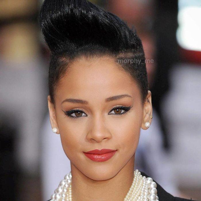 Rihanna y Ariana Grande fusionadas