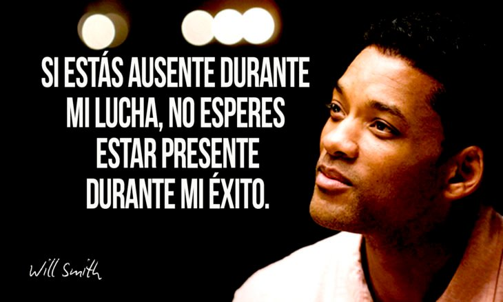 frase de will smith sobre éxito