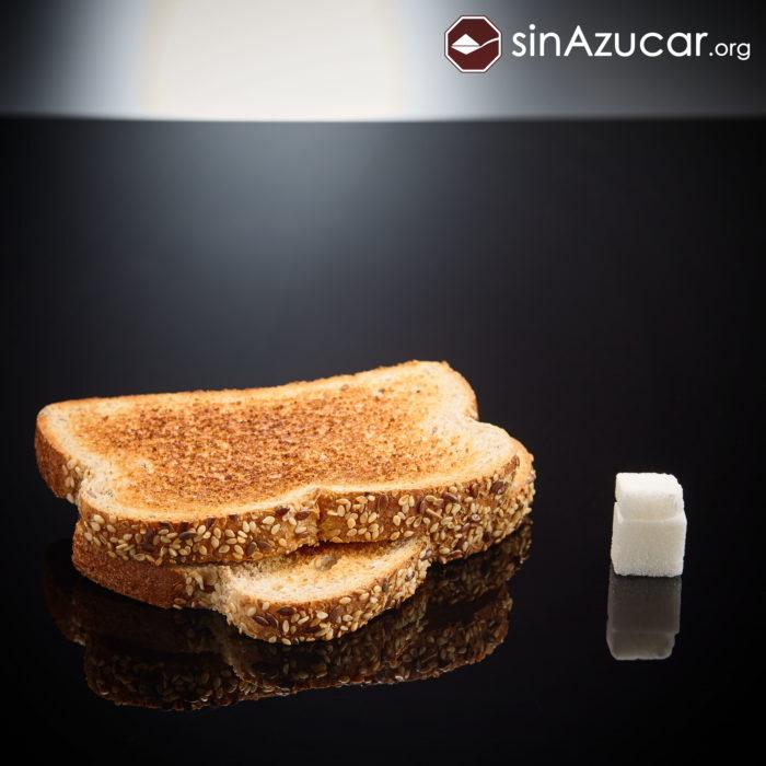 Cuanto azúcar contiene pan integral