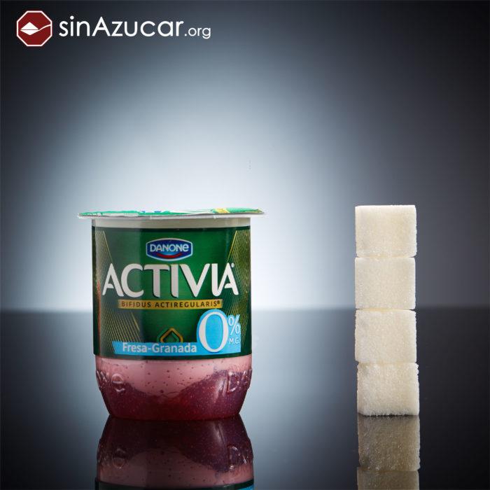 Cuanto azúcar contiene activia