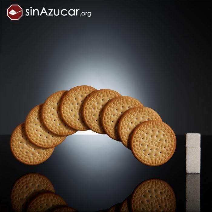 Cuanto azúcar contiene galletas