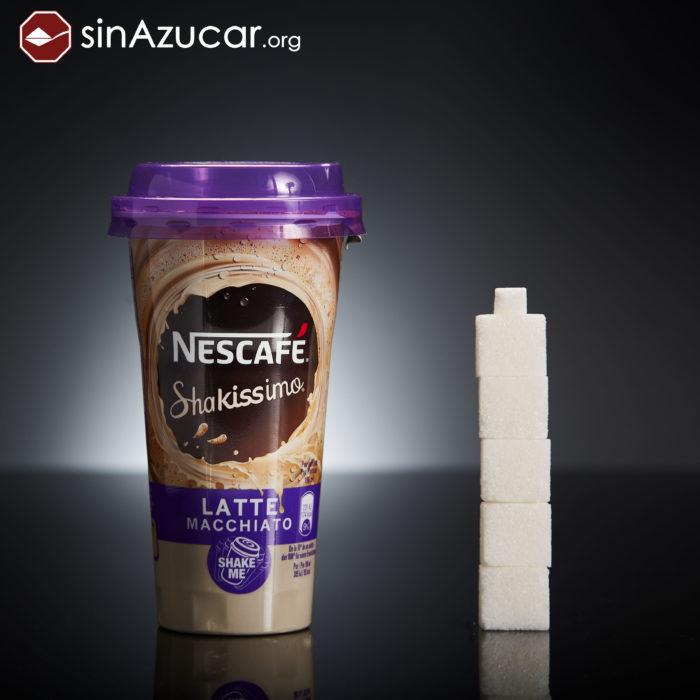 Cuanto azúcar contiene nescafé