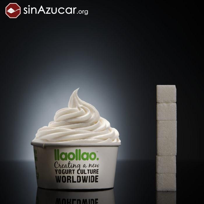 Cuanto azúcar contiene nieve de yogur