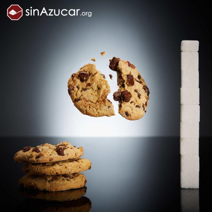 Cuanto azúcar contiene galletas chispas chocolate