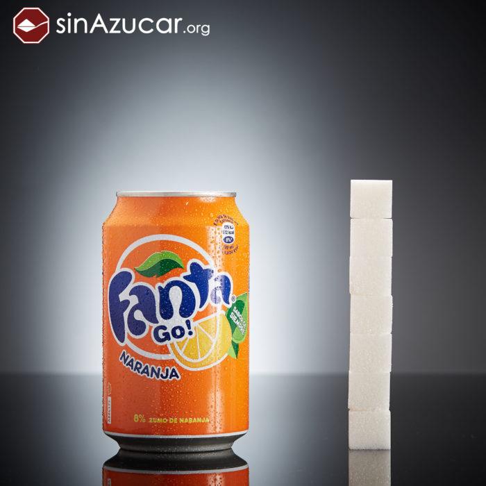 Cuanto azúcar contiene fanta