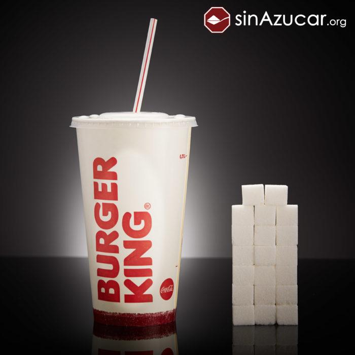 Cuanto azúcar contiene burger king
