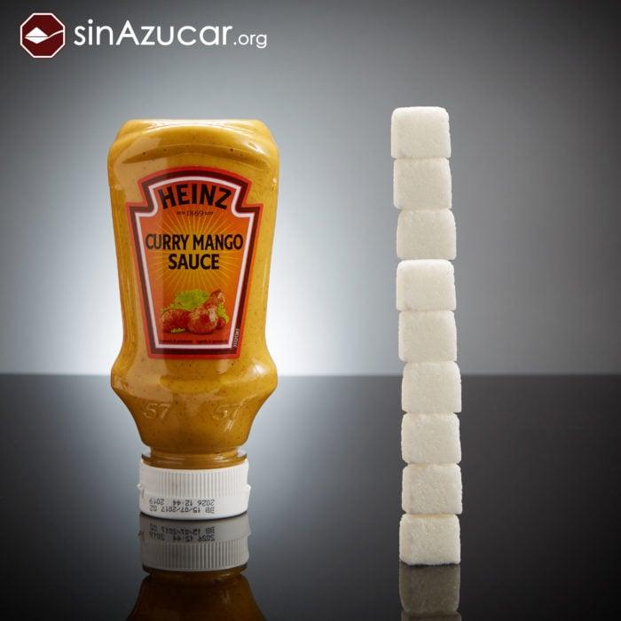 Cuanto azúcar contiene mostaza