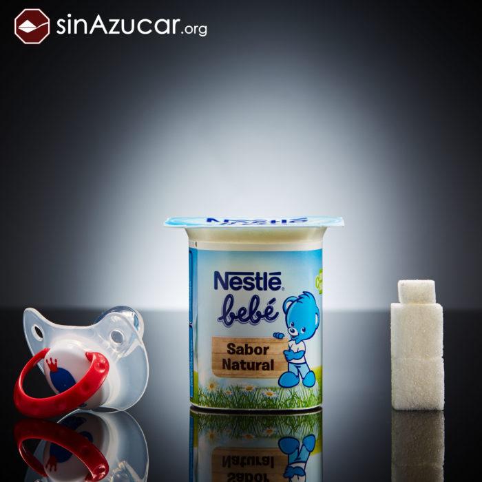 Cuanto azúcar contiene alimento para bebé