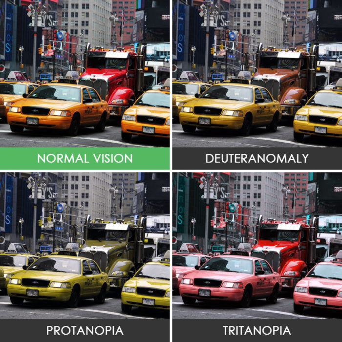 Daltonísmo Taxis