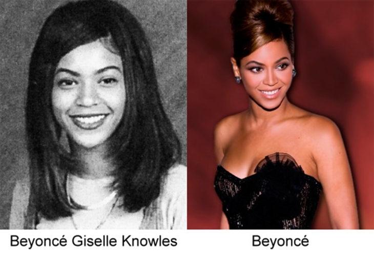 antes y después de beyoncé