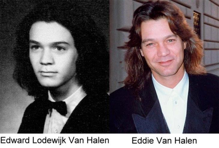 antes y después de eddie van halen